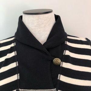 Ralph Lauren Tops - Ralph Lauren striped cowl neck sweater EXC cond!